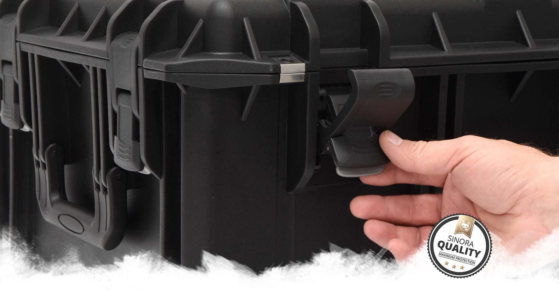 Sinora Kunststoff-Koffer bieten intuitve und zuverlässige Qualität